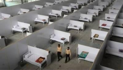 لاہور ایکسپو سینٹر میں سسٹم اپ ڈیٹ نہ ہونے سے ویکسی نیشن بند