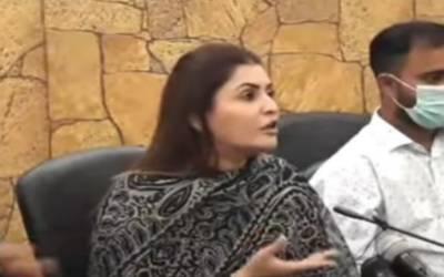 عمران خان صاحب بتائیں ایسی کون سی کرپشن کی جس سے ملک میں مہنگائی بڑھی۔ شازیہ مری