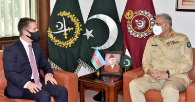 آرمی چیف جنرل قمر جاوید باجوہ سےآذربائیجان کے سفیر علی علی زادہ کی الوداعی ملاقات