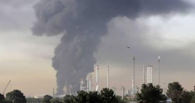 ایران:آئل اینڈ گیس پمپنگ اسٹیشن پر دھماکا،3 افراد ہلاک