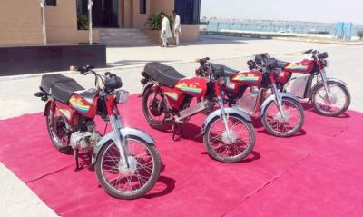 پاکستان میں پہلی ماحول دوست الیکٹرک موٹر بائیک متعارف
