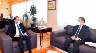 چین لبنانی فوج کے ساتھ تعاون بڑھانے کا خواہاں ہے۔چینی سفیر