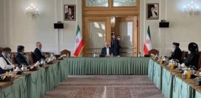 تہران میں افغان حکومت اور طالبان وفد کے درمیان مذاکرات, افغانستان میں پرامن سیاسی حل کے لیے مذاکرات جاری رکھنے پر اتفاق