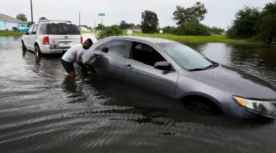 نیو یارک میں طوفانی بارشیں اور سیلاب،متعدد گاڑیاں پانی میں ڈوب گئیں