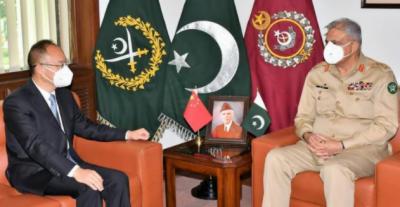 آرمی چیف سے چینی سفیر اور قطر کے نمائندہ خصوصی کی ملاقات، پاک قطر تعلقات،پاک چین تعلقات، علاقائی امن و سلامتی کے امور پر تبادلہ خیال