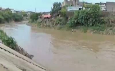 راولپنڈی اور گرد و نواح میں شدید بارش،نالہ لئی میں پانی کی سطح ساڑھے10 فٹ تک بڑھ گئی