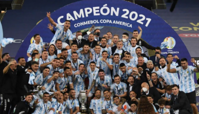 ارجنٹائن نے برازیل کو شکست دیکر 'کوپا امریکا کپ' جیت لیا