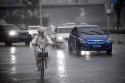 چین میں طوفانی بارش اور تیز ہواؤں سےمعمولات زندگی بری طرح متاثر