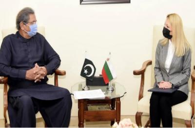 وفاقی وزیر تعلیم شفقت محمود سےبلغاریہ کی سفیر کی ملاقات,تعلیم اور ثقافت کے میدان میں دوطرفہ تعاون کو مزید بڑھانے پر زور
