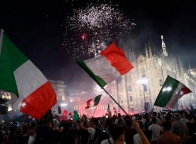 اٹلی میں یوروکپ کی فتح کا جشن، مختلف واقعات میں 2 افراد ہلاک اور 15 زخمی