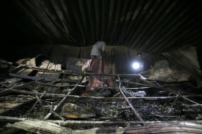 عراق: کرونا مریضوں کے اسپتال میں آتشزدگی, جاں بحق افراد کی تعدا 54 تک پہنچ گئی
