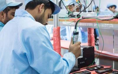 معروف کمپنی کا پاکستان میں موبائل اسمبلنگ یونٹ قائم کرنیکا اعلان