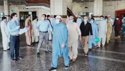 کراچی ائرپورٹ سے کورونا کا مریض فرار