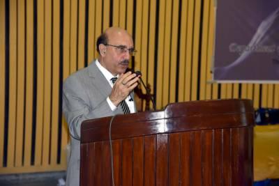 جامعات ملک کو در پیش سائبر سیکورٹی کے مسائل سے نمٹنے کے لیے ماہرین اور پروفیشنل تیار کریں۔سردار مسعود خان