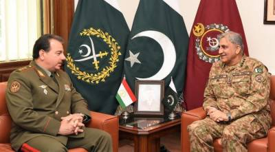 تاجکستان کے وزیردفاع کا جی ایچ کیو راولپنڈی کا دورہ، آئی ایس پی آر
