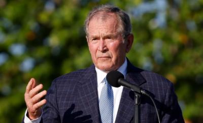 افغانستان سے افواج کا انخلا بہت بڑی غلطی ہے, شہریوں کو قتل ہونے کے لئے چھوڑ دیا گیا ہے: سابق امریکی صدر جارج ڈبلیو بش