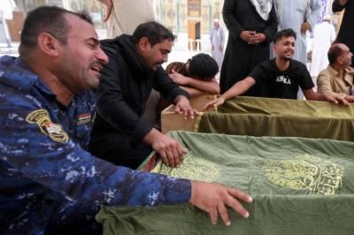 پاکستان کا عراق کے شہر ناصریہ کے ہسپتال میں آتشزدگی پر اظہار تعزیت