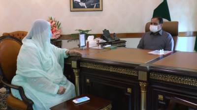 وزیراعلیٰ پنجاب سردار عثمان بزدارسے صوبائی وزیر صحت ڈاکٹر یاسمین راشد کی ملاقات