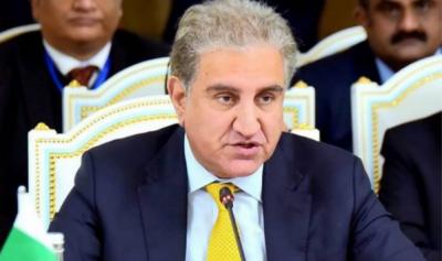 مذاکرات سے افغان مسئلے کے سیاسی حل کی حمایت جاری رکھنے کیلئے پرعزم ہے،شاہ محمود
