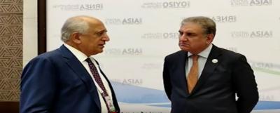 وزیرخارجہ کی زلمے خلیل زاد سے ملاقات، افغانستان کی بدلتی صورتحال پر تبادلہ خیال