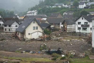 جرمنی میں سیلاب سے 100 افراد ہلاک