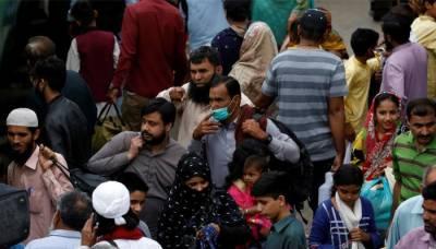 کراچی ایکسپو ویکسینیشن سینٹرکے ملازمین کا تنخواہوں کی ادائیگی کیلئے احتجاج