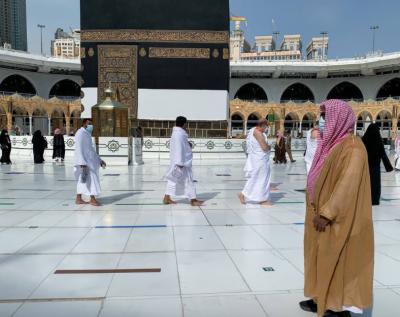 طواف قدوم' کا آغاز ، مسجد الحرام 'لیبک اللھم لیبک' کی صداؤں سے گونج اٹھا
