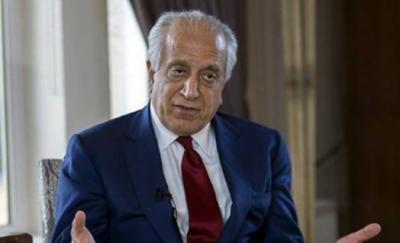 افغان مسئلے کا کوئی عسکری حل نہیں، امن کے لیے سیاسی سمجھوتہ ہی کرنا ہو گا: زلمے خلیل زاد