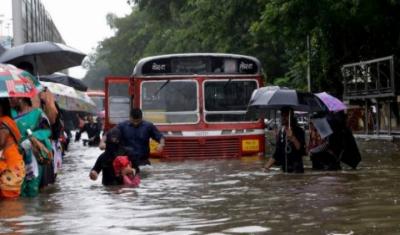 ممبئی میں بارشوں کے باعث مختلف حادثات میں 22 افراد ہلاک