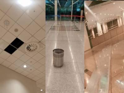 شدید بارش: اسلام آباد انٹرنیشنل ائیرپورٹ کی قیمتی املاک کو نقصان