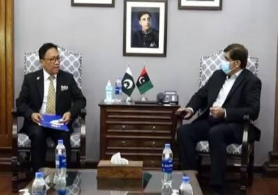 وزیرا علیٰ سندھ سے انڈونیشیا کے قونصل جنرل کی ملاقات