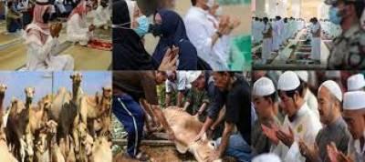 سعودی عرب،یو اے سمیت خلیجی ملکوں میں عید الاضحیٰ منائی جارہی ہے