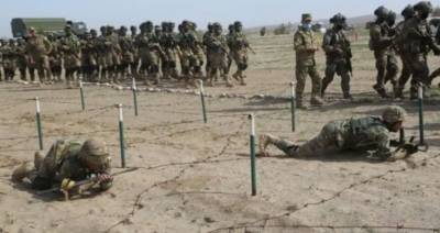 افغان سرحد کے قریب روس اور ازبکستان کی جنگی مشقیں