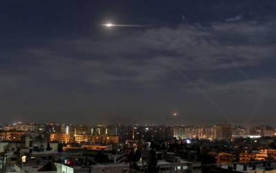 اسرائیلی فوج کا شام کے وسطی صوبہ حمص میں ایک اور فضائی حملہ