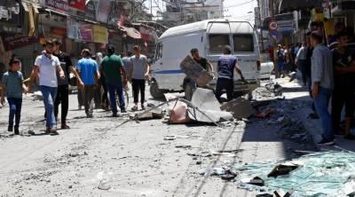 غزہ کے مصروف علاقے میں خوفناک دھماکہ،1شخص جاں بحق ، 10 زخمی