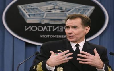 ترجمان پینٹاگون نے طالبان پرفضائی حملوں کی تصدیق کردی