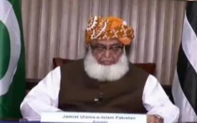 عمران خان کی تقریروں نے کشمیر فروشی کی تصدیق کردی۔ فضل الرحمن