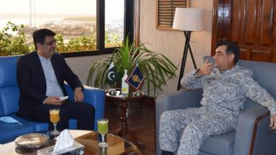 ایران اور پاکستان کے مابین بحری سیکورٹی کے تعاون کے فروغ پر تاکید