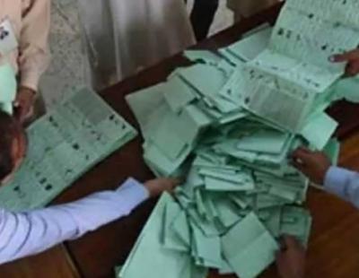 اے جے کے الیکشن: پی ٹی آئی 12، ن لیگ 2 اور پی پی ایک نشست پر کامیاب