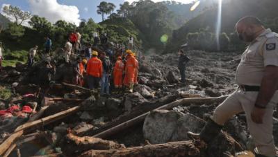 بھارت میں سیلابی ریلوں اور لینڈ سلائیڈنگ نے تباہی مچا دی, ہلاکتوں کی تعداد 138 تک پہنچ گئی