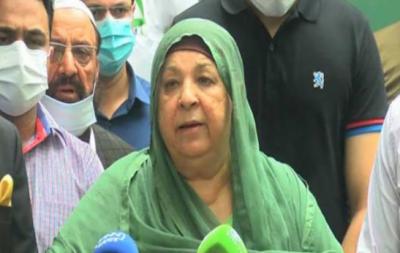 کوشش ہے 14اگست تک 40فیصد آبادی کو ویکسی نیٹ کر دیں: وزیر صحت پنجاب یاسمین راشد