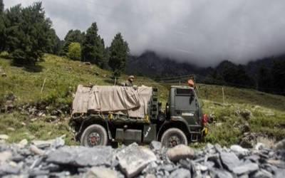 چین نے مختلف مقامات پر اپنے ٹینٹ نصب کر لیے ہیں۔بھارتی حکام