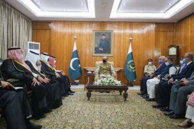 صدر مملکت ڈاکٹر عارف علوی سے سعودی وزیر خارجہ فیصل بن فرحان السعود کی ملاقات