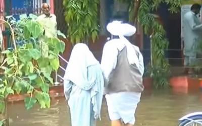 پی پی38 ضمنی انتخاب: بارش سے پولنگ کا عمل تاخیر سے شروع ہوا