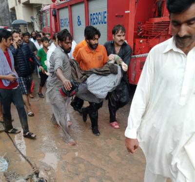 اسلام آباد، گھر میں پانی داخل ہونے سے ماں ،بچہ جاں بحق