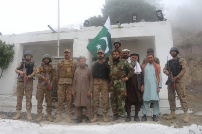 افغان آرمی کے 5 جوان افغان حکام کے حوالے، آئی ایس پی آر