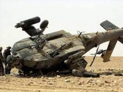 عراق: آرمی ہیلی کاپٹر گر کر تباہ ، 5 فوجی ہلاک