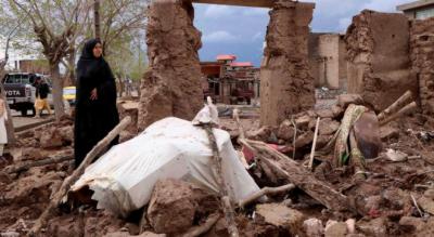 افغانستان میں تیز بارشوں کے بعد سیلاب , 60 کے قریب افراد جاں بحق