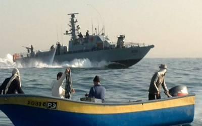 غزہ:اسرائیلی فوج کی کارروائی، 2فلسطینی ماہی گیر گرفتار