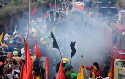بھارتی کسانوں کا احتجاج پوری شدت کے ساتھ جاری, تینوں زرعی قوانین واپس لینے کا مطالبہ